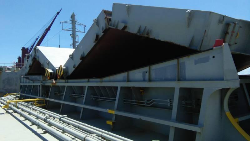 vessel ship onhire offhire condition survey rotterdam amsterdam antwerp europe